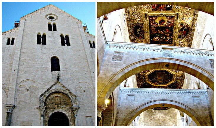 Collage Basilica San Nicola
