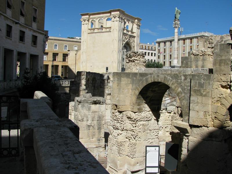 Lecce il foro romano