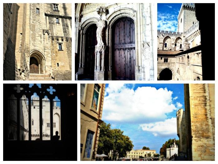 Palazzo-papi-Avignone-collage-by-Tiziana-Bergantin-01