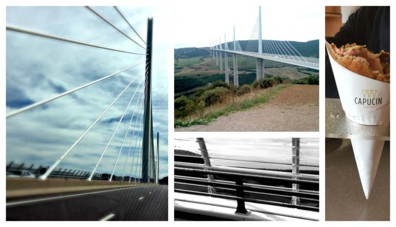 ponte-viaduc-de Millau-collage-and-photo-by-Tiziana-Bergantin-